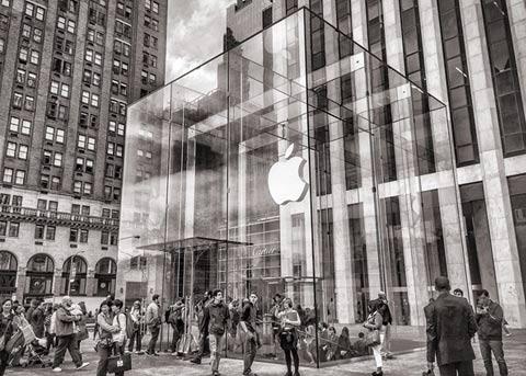 苹果晒新数据:为中国带来500万个工作岗位