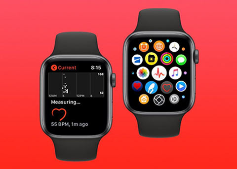 Apple Watch Series 4 可以更准确测量心率