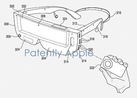 苹果正在打造VR设备?又一个与头戴设备相关的专利曝光