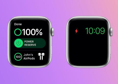 免费维修:如果 Apple Watch Series 5 或 Apple Watch SE 在省电模式下无法充电