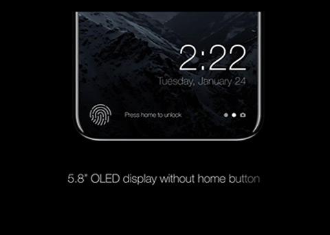 全新iPhone8概念设计 搭载iOS11