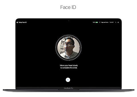 苹果新专利:Mac 支持面容 ID,妙控键盘支持触控栏
