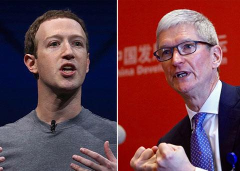 扎克伯格猛烈抨击库克和苹果:滑稽且虚假