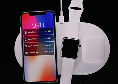 苹果无线充电板AirPower发布:支持多设备