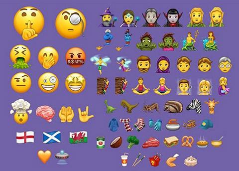 Unicode 10正式发布 新增56个Emoji表情