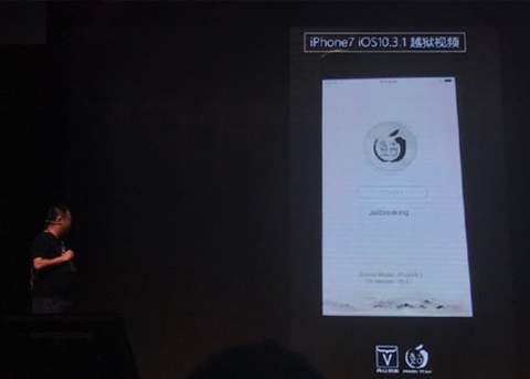 iOS10.3.1可以越狱吗?盘古演示iOS10.3.1越狱视频