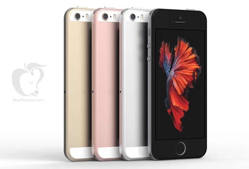 iPhone5se有哪些颜色?iPhone5se外观终极渲染图曝光!