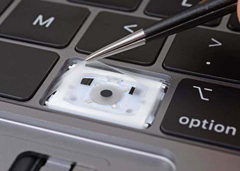 新MBP键盘的薄膜能防尘?来看看测试结果