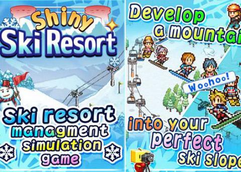 开罗新作《闪亮的滑雪胜地》现已上架iOS平台