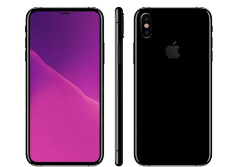 iPhone 8工程机曝光:配备2.5D双玻璃+双镜头
