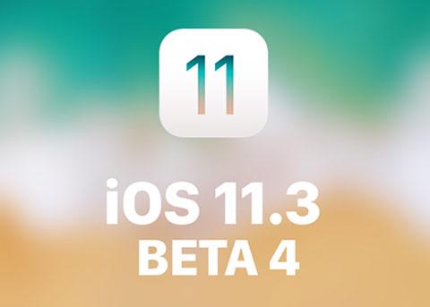 iOS11.3 beta4更新:解决设备无法识别问题