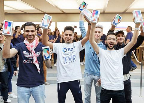 苹果iPhone X成为Q1全球销量最高的手机