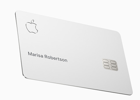 Apple Card实物卡片钛金属含量为90%