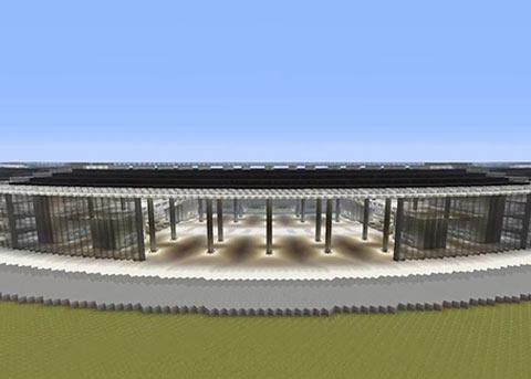 厉害了!《我的世界》玩家耗费232个小时打造苹果新总部