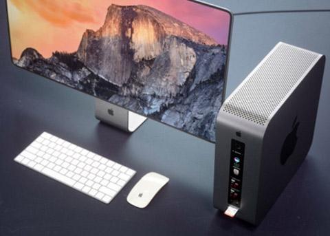 """抛弃""""垃圾桶""""设计!这款模块化Mac Pro帅呆了"""
