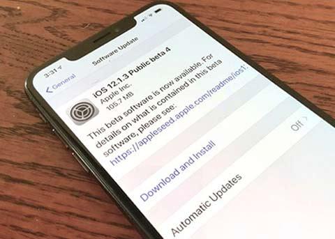 iOS12.1.3 beta4已发布 iOS12.1.3正式版还会远吗?