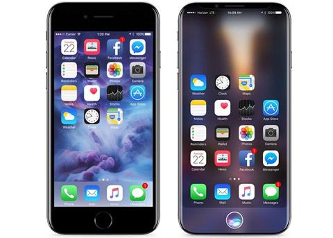 iPhone8最新外形图曝光 售价或破1000美元