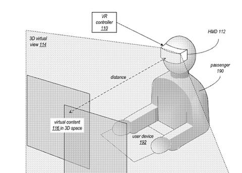 苹果车载VR体验专利曝光 可缓解乘客晕车和打发无聊时光