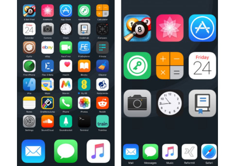 iOS10插件推荐:ReformX可自定义iOS主屏幕布局