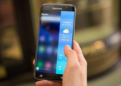 三星Galaxy S7 Edge再曝紫线门 已承诺修复