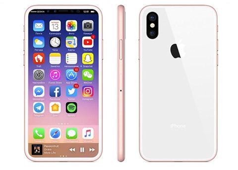 iPhone8新配色曝光:玫瑰金与白色的结合