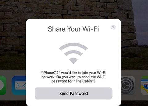 iOS11新亮点:可轻松共享WiFi 还会自动发送密码