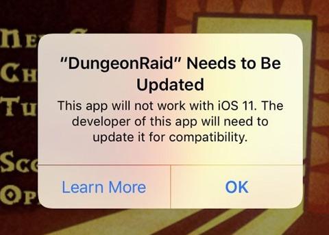 iOS11正式版即将到来 32位应用将无法启动