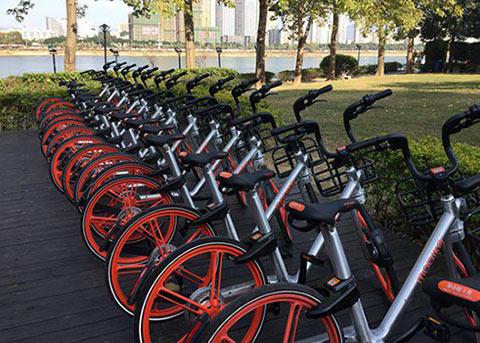 """共享单车又有新玩法!摩拜单车推出""""红包车"""""""