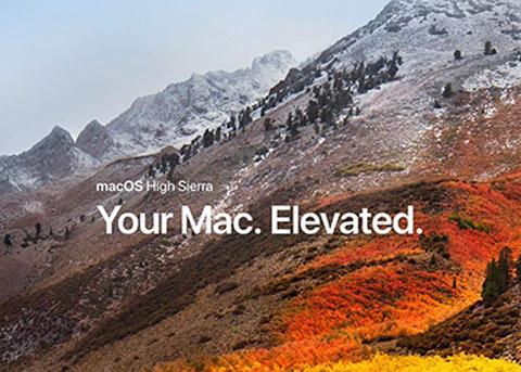 macOS 10.13.2正式版发布 引入中文名称