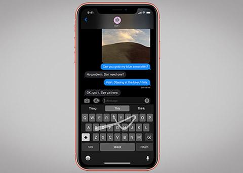 iOS13滑行键入:掌握一种无比顺滑的新方法