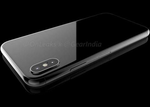 全新渲染图:最接近真实iPhone8的设计?