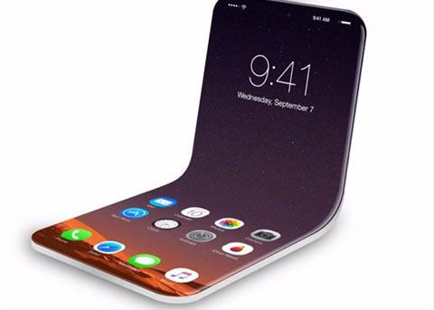 最新专利显示:苹果正在开发可折叠iPhone