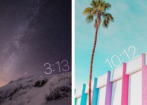 iOS10越狱插件推荐:可旋转移动的锁屏时钟