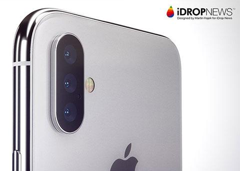 明年iPhone将支持3倍光学变焦 可立体成像