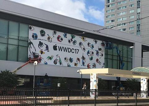 WWDC 2017召开在即 苹果开始布置会场