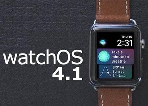 watchOS 4.1正式版也来了 你更新了么?