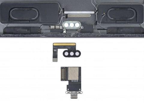11英寸iPad Pro拆解:电池易换 接口模块化