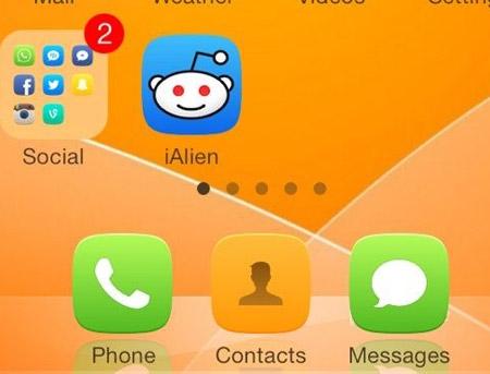 美化插件ClassicDock:重温iOS6经典玻璃Dock栏