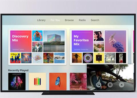 期待吗?tvOS 11或新增画中画和多用户模式