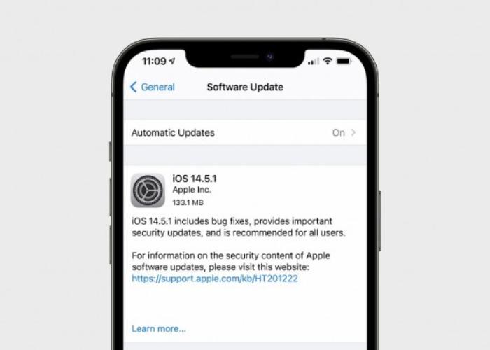 苹果已发布iOS 14.5.1/iPadOS 14.5.1:修复应用跟踪透明度选项变灰的问题