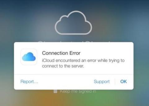iCloud经历短时宕机 用户遭遇登录和验证失败等问题