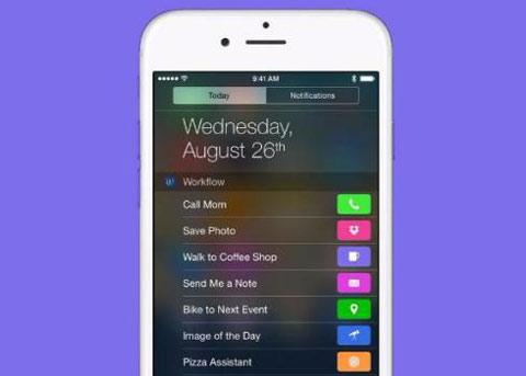 苹果收购自动化应用Workflow 现可免费下载