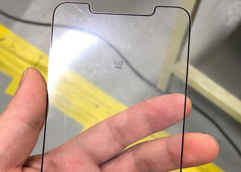 iPhone X Plus前面板曝光:LG 6.5寸OLED屏