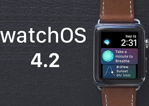 watchOS 4.2已发布 支持Apple Pay Cash