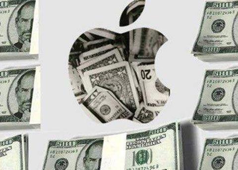 苹果现金储备将超过沃尔玛 破2500亿美元