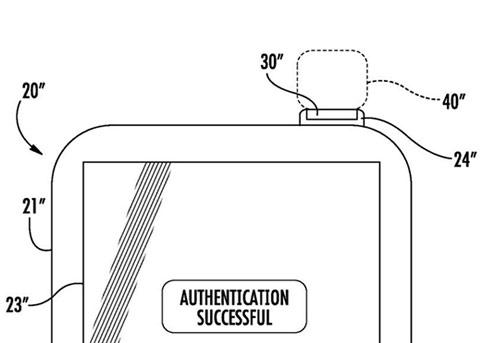 苹果新专利曝光:将Touch ID传感器集成到电源键