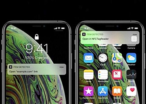 iPhone Xs/XR支持后台NFC 无需另启动应用