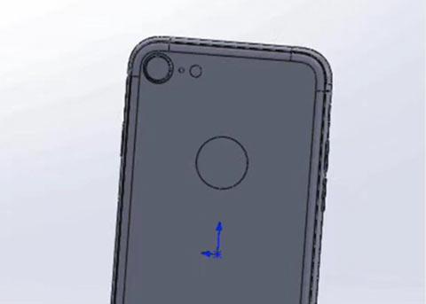 iPhone 7s CAD图像曝光: 确认无线充电