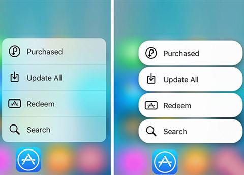 iOS9插件推荐:可以让3D Touch快捷菜单变个样儿