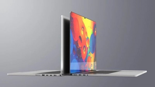 传M1X MacBook Pro为刘海屏 苹果早已申请相关专利